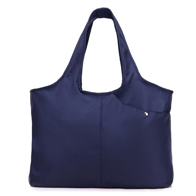 Easy Handle Tote Bag Bag InspirExpress Navy