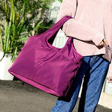 Easy Handle Tote Bag Bag InspirExpress Purple