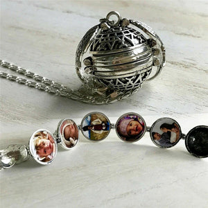 Expanding Photo Locket Necklace Necklace InspirExpress