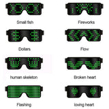 Load image into Gallery viewer, Flash Led Party Glasses Glasses InspirExpress