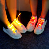Flash Light Shoelaces Shoelaces InspirExpress Yellow