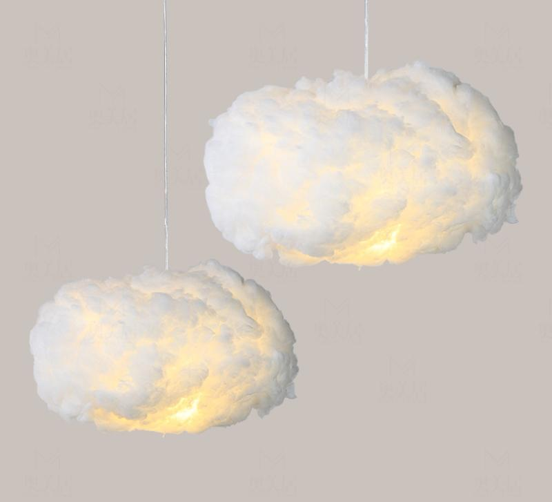 Floating Cloud Pendant Light Light InspirExpress