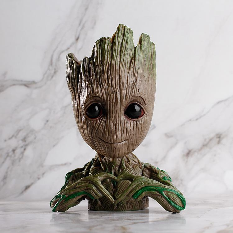 Groot Man Planter Pot Pot InspirExpress Heart You Groot