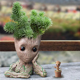 Groot Man Planter Pot Pot InspirExpress Relaxed Groot