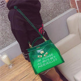 Jelly Candy Bag Bag InspirExpress Small Green