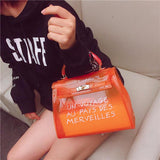 Jelly Candy Bag Bag InspirExpress Small Orange