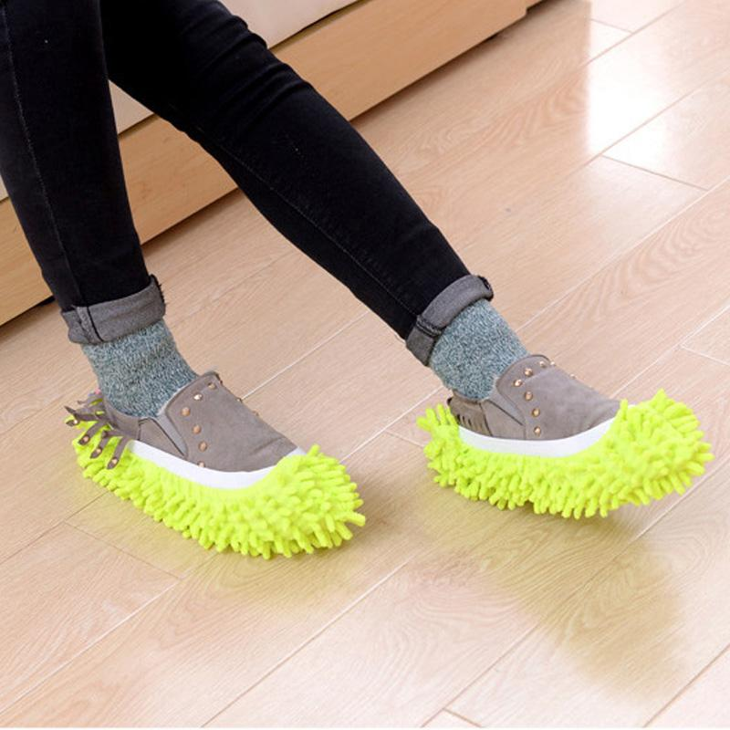 Lazy Cleaner Shoes Cover Cover InspirExpress Green