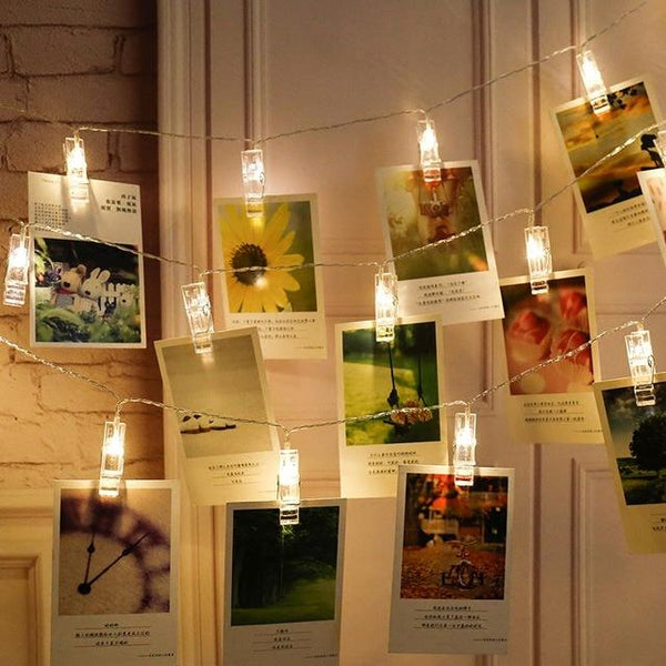 Lighting Your Memory Photo Clips