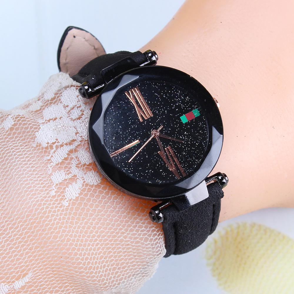 Magnetic Strap Watch Watch InspirExpress Black