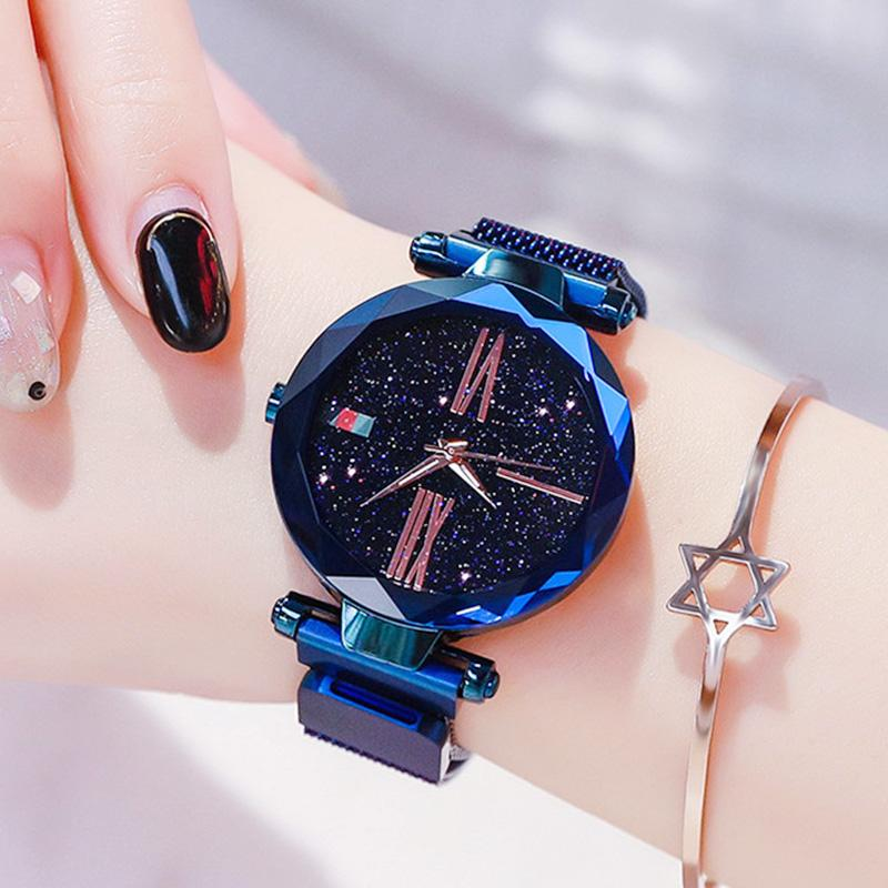 Magnetic Strap Watch Watch InspirExpress Navy