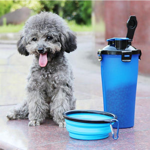 Outdoor Folding Pets Feeder Feeder InspirExpress Blue
