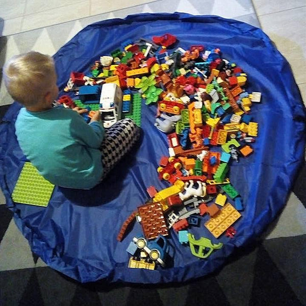 Play Mat Toys Storage Bag