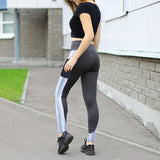 Load image into Gallery viewer, Pocket Patchwork Fitness Legging Legging InspirExpress S Dark Gray