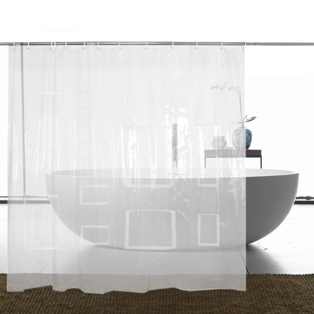 Pockets Shower Curtain Shower GEEKS1024