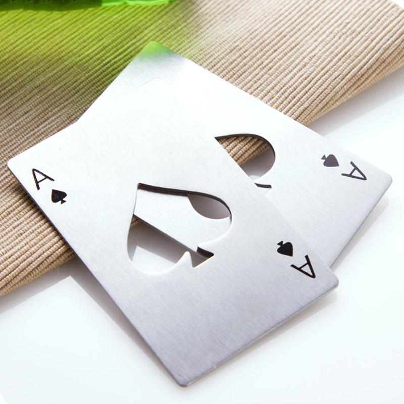 Poker Card Beer Bottle Opener Opener InspirExpress