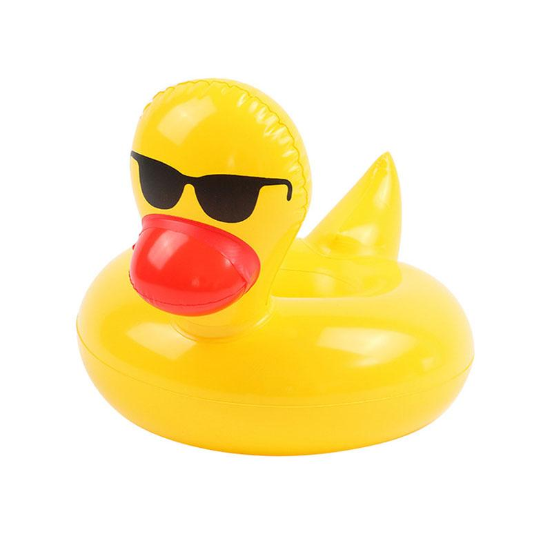 Pool Party Cup Holders Pool GEEKS1024 Yellow duck