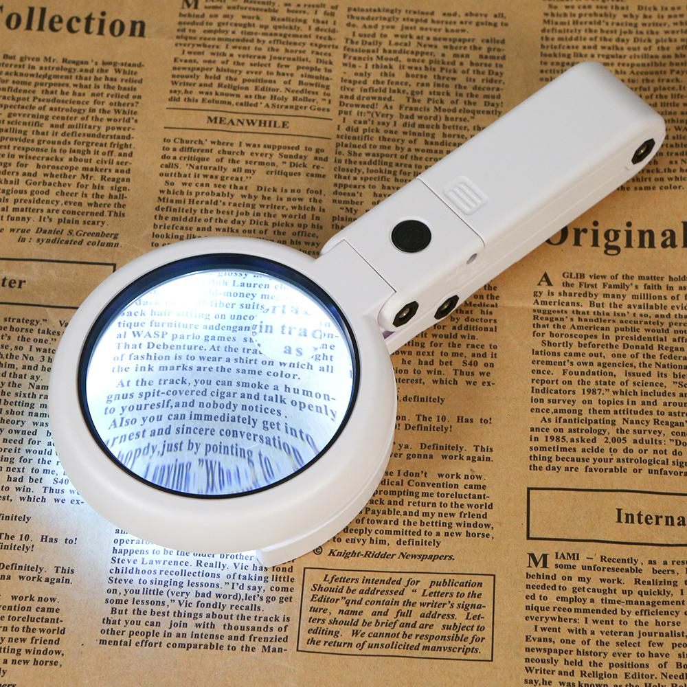 Portable Foldable Illuminated Magnifier Magnifier InspirExpress