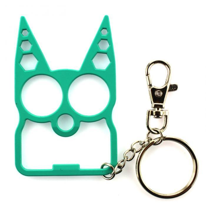 Portable Multifunction Cat Keychain Key InspirExpress Green