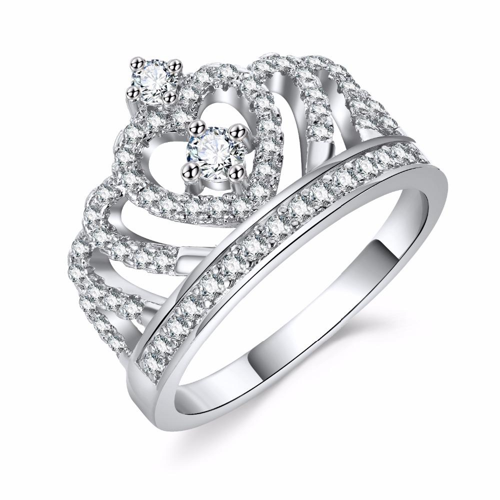 Princess Crown Ring Ring InspirExpress