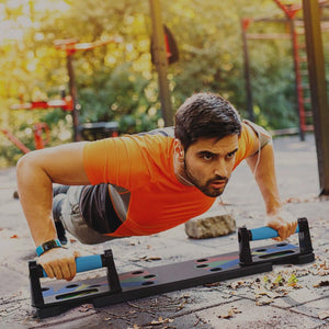 Push Up Rack Board Fitness InspirExpress 9 Kinds of Exercise