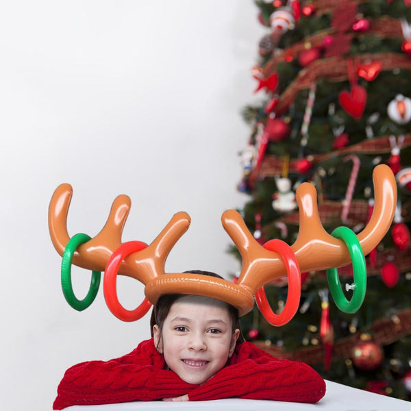 Reindeer Antler Ring Toss Toy