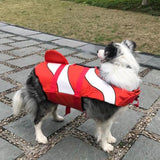 Shark Life Vest For Dogs Pet InspirExpress