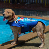 Load image into Gallery viewer, Shark Life Vest For Dogs Pet InspirExpress Cartoon Shark S