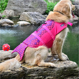 Load image into Gallery viewer, Shark Life Vest For Dogs Pet InspirExpress Mermaid S