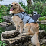 Load image into Gallery viewer, Shark Life Vest For Dogs Pet InspirExpress Shark S