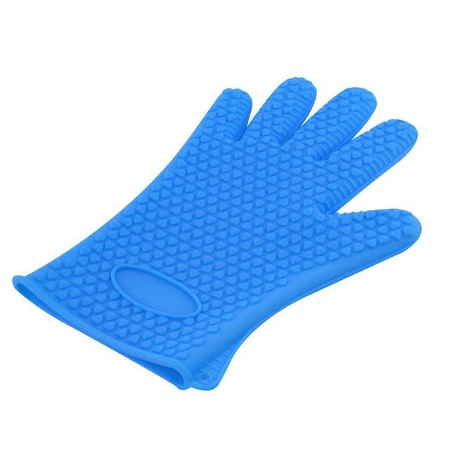 Silicone Heat Resistant Gloves Gloves InspirExpress