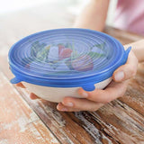 Load image into Gallery viewer, Silicone Sealing Lids - 6 Pcs Lid GEEKS1024