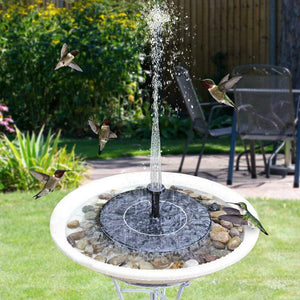 Solar Garden Pool Fountain Fountain InspirExpress