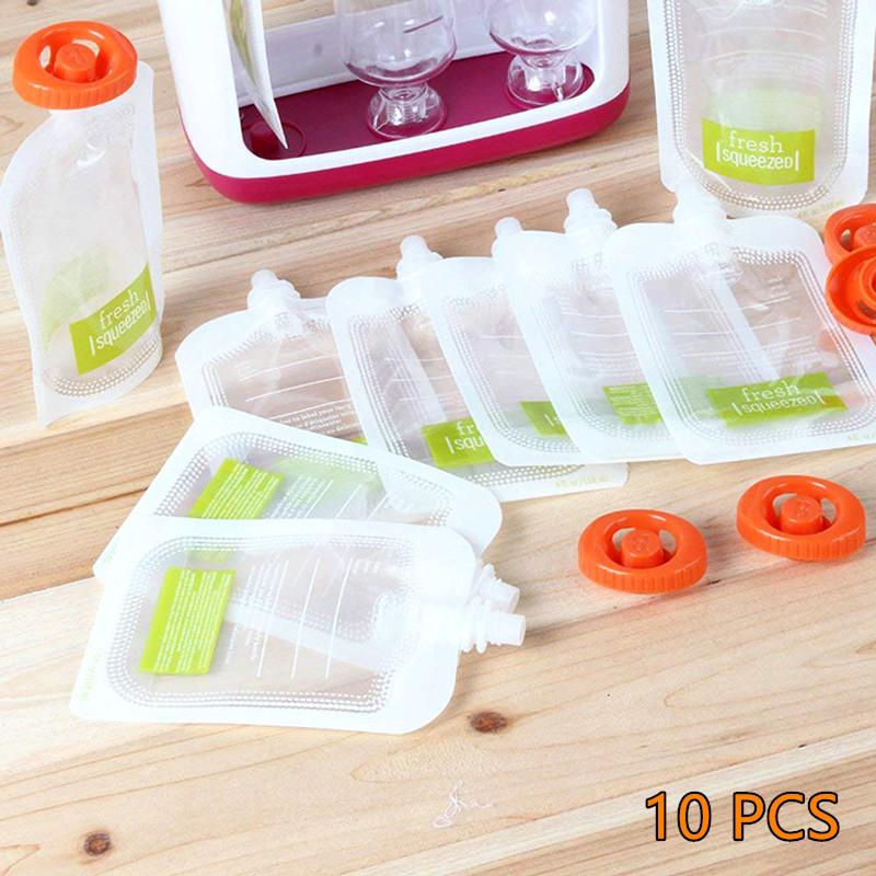 Squeeze Juice Station Kitchen InspirExpress 10 Pcs Pouches