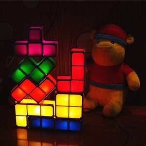Tetris Stackable Lamp Lump InspirExpress