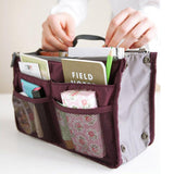 Travel Organizer Handbag Handbag GEEKS1024 Wine