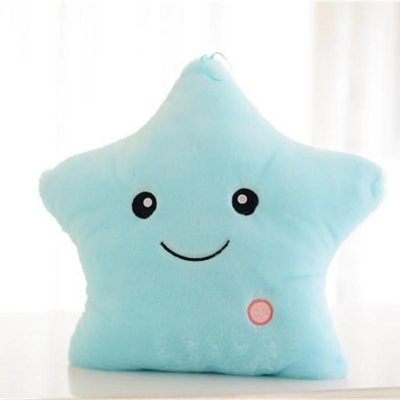 Twinkle Little Star Pillow Toy GEEKS1024 Blue