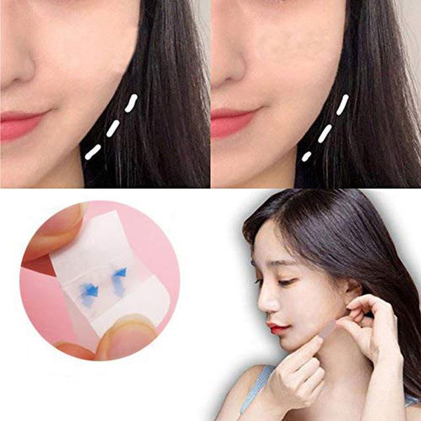 V Shape Face Sticker