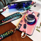 Load image into Gallery viewer, Vintage Camera lanyard Case Phone Case InspirExpress