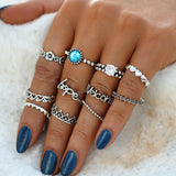 Load image into Gallery viewer, Vintage Knuckle Ring Set Ring InspirExpress style 14