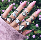 Load image into Gallery viewer, Vintage Knuckle Ring Set Ring InspirExpress style 2