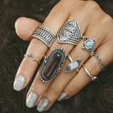 Load image into Gallery viewer, Vintage Knuckle Ring Set Ring InspirExpress style 20