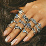 Load image into Gallery viewer, Vintage Knuckle Ring Set Ring InspirExpress style 24