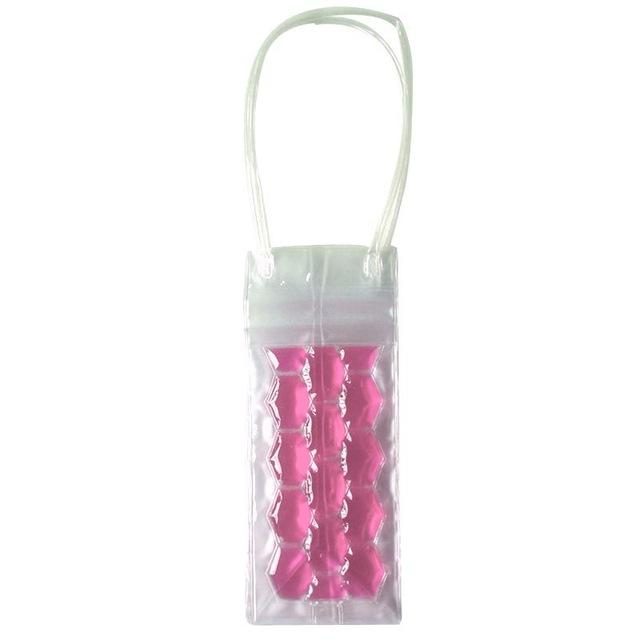 Wine Freezer Bag Bag InspirExpress Pink