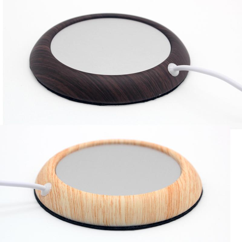 Wood Grain Cup Warmer Mat InspirExpress