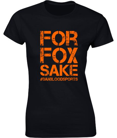 For Fox Sake - Ladies Crew Neck T-Shirt