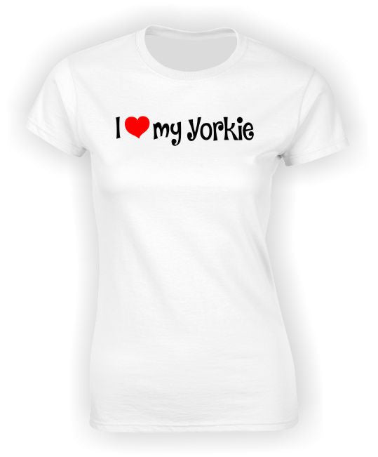'I Heart my Yorkie' T-Shirt