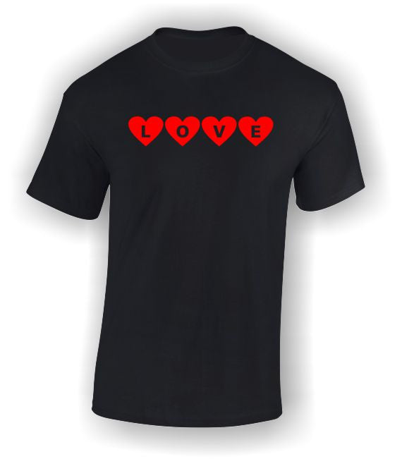 Love Hearts Valentine's T-Shirt