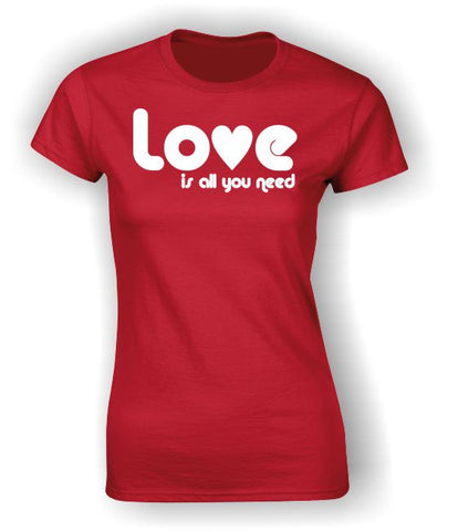Love is all you need Valentine's T-Shirt