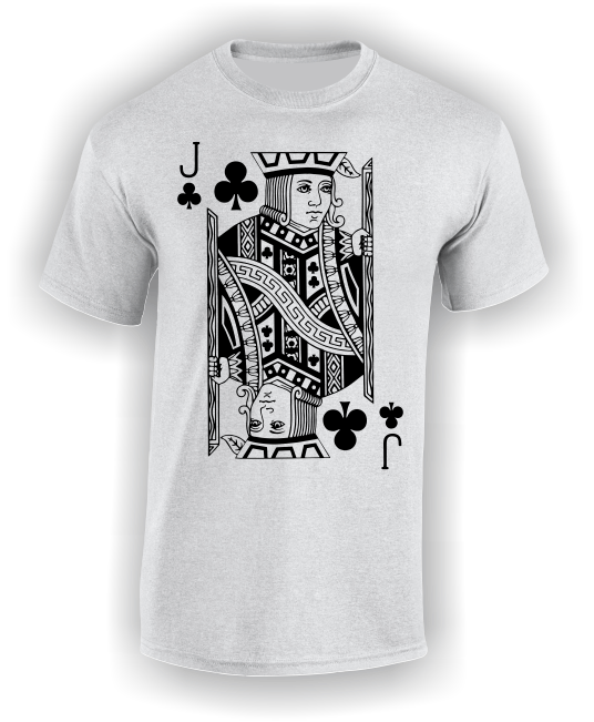 Jack of Clubs (Full) T-Shirt
