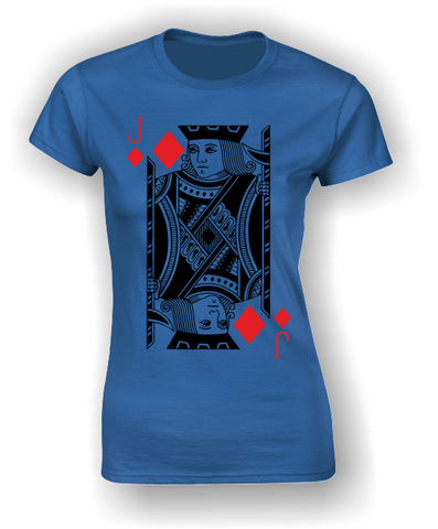 Jack of Diamonds (Full) T-Shirt